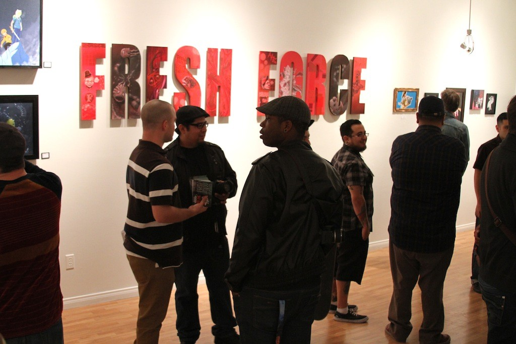 Fresh_force_gcs_art_show_dtsa_8