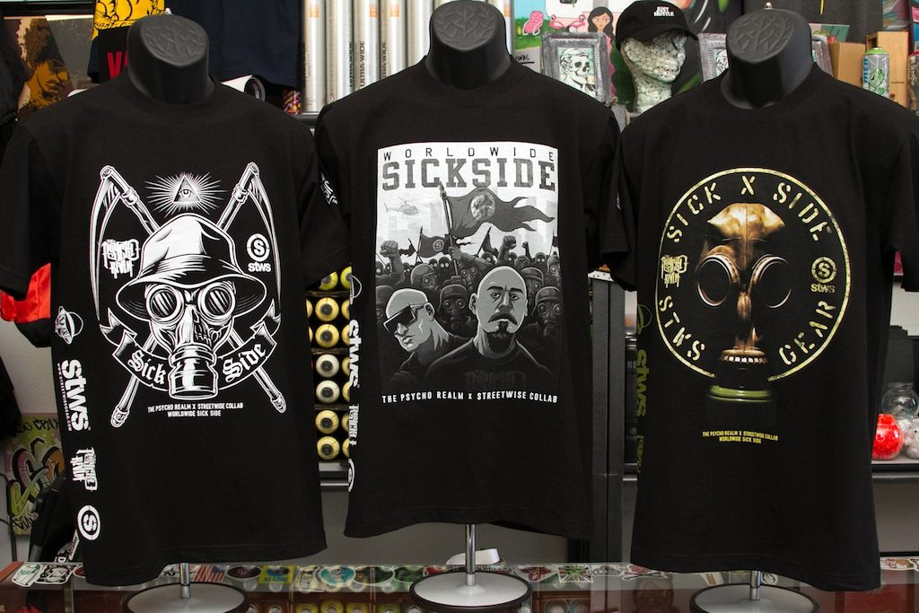 The Psycho Realm x Street Wise Collab