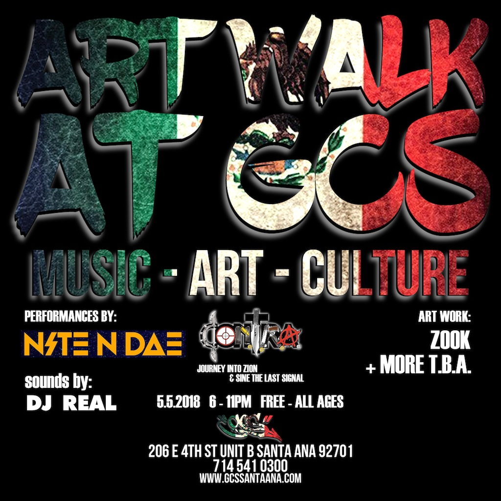 Santa Ana Art Walk Cinco De Mayo