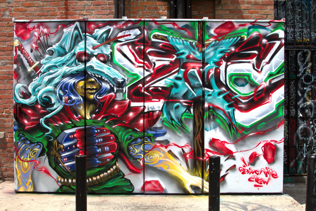 graff art in Santa Ana