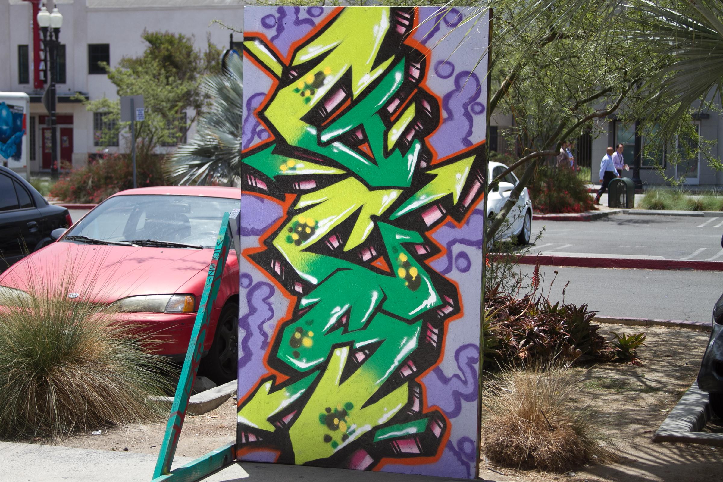 GCS graffiti piece Santa Ana