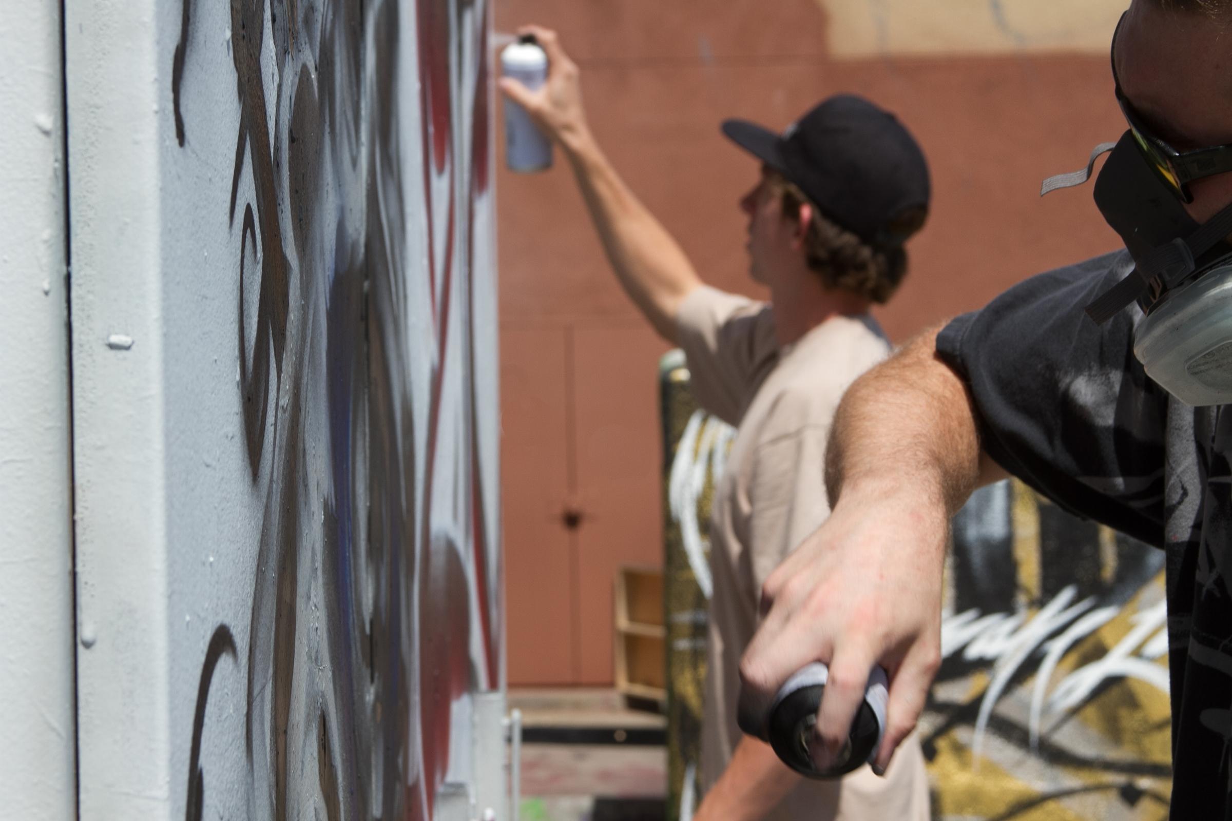 MTN graffiti