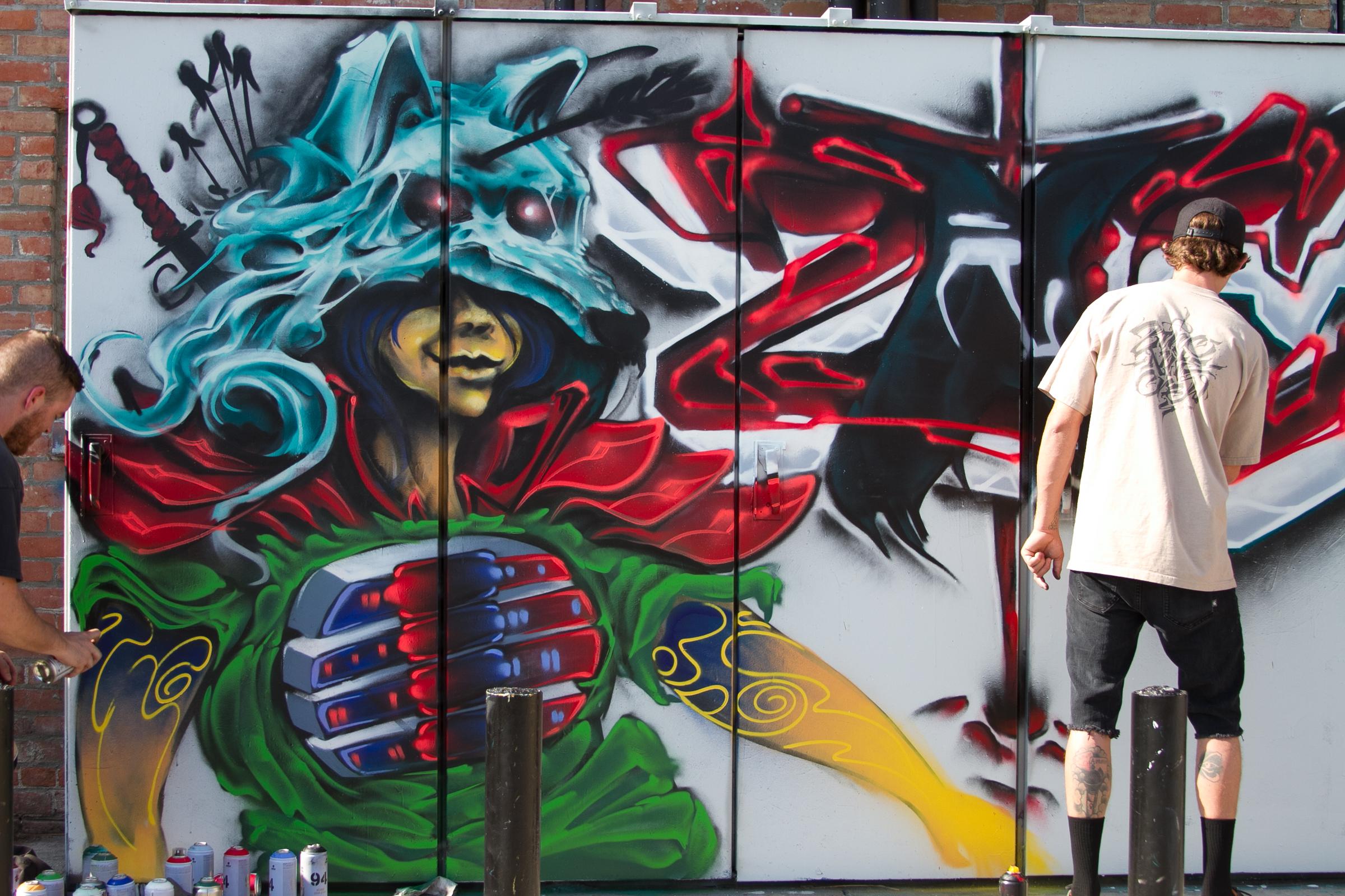 graff art OC