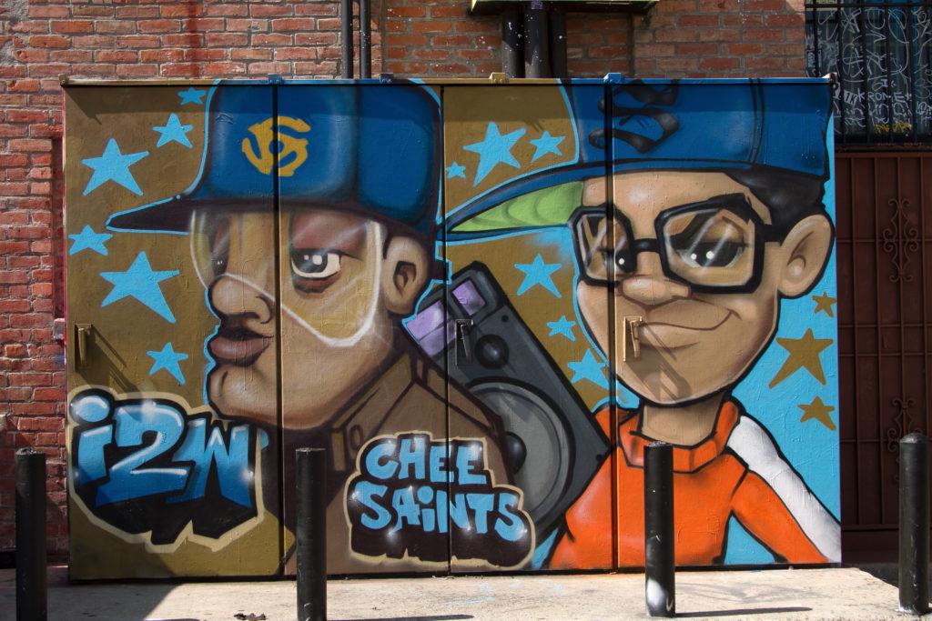 graffiti Santa Ana