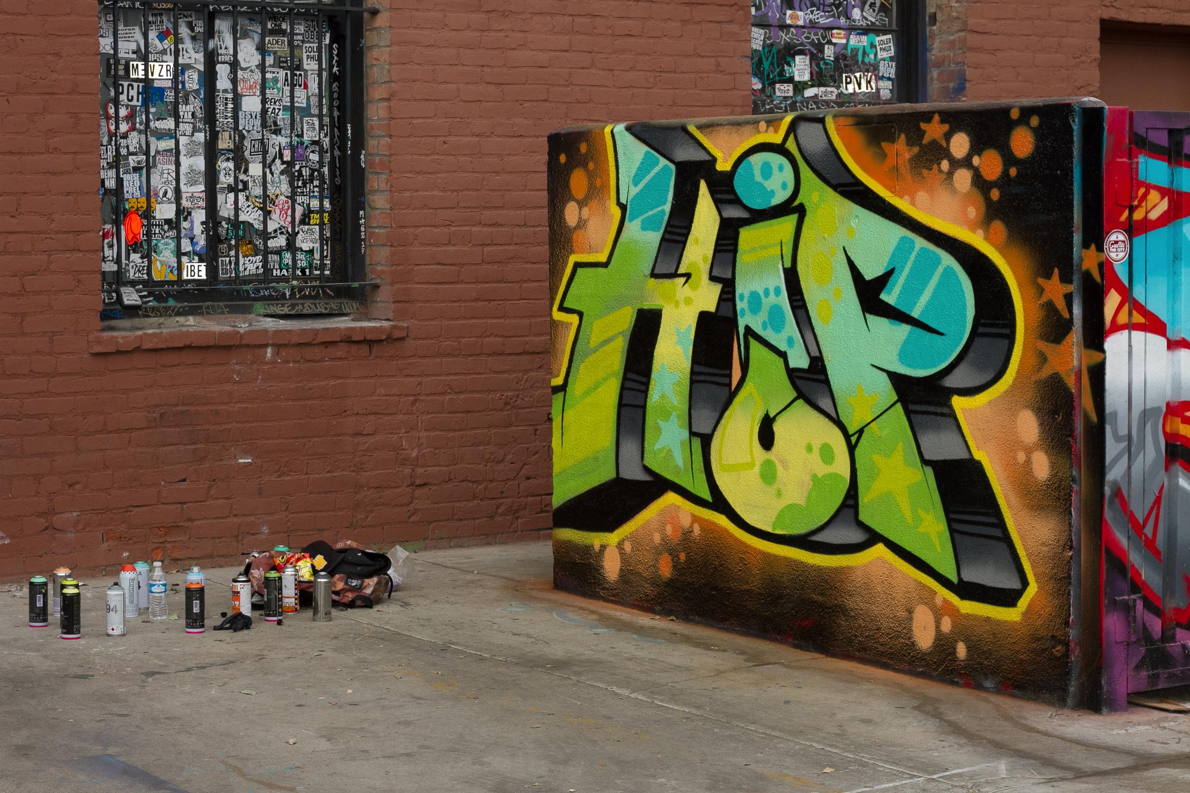 graff Santa Ana