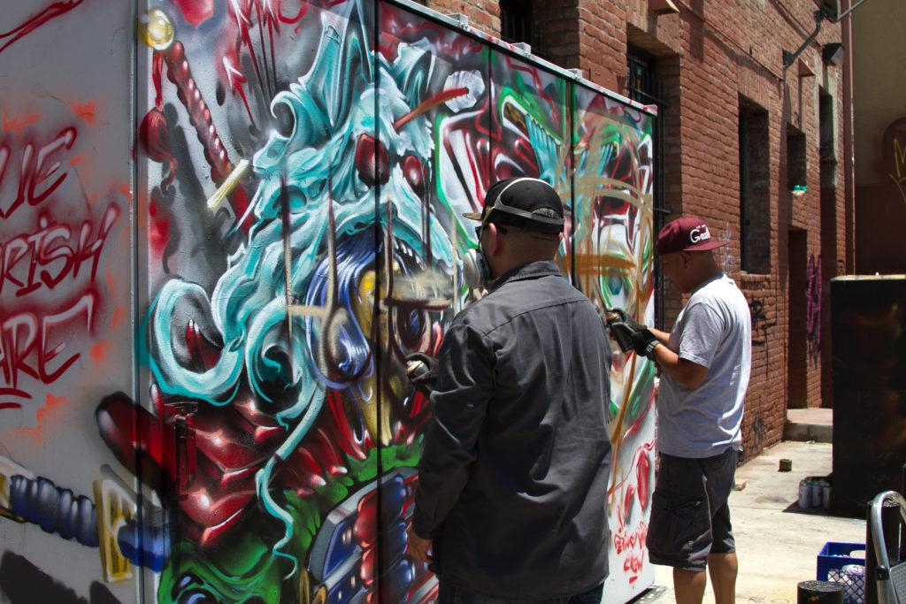 beat swapmeet graffiti