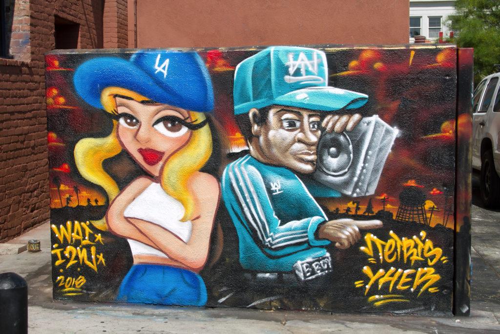 YHER TETRIS graffiti