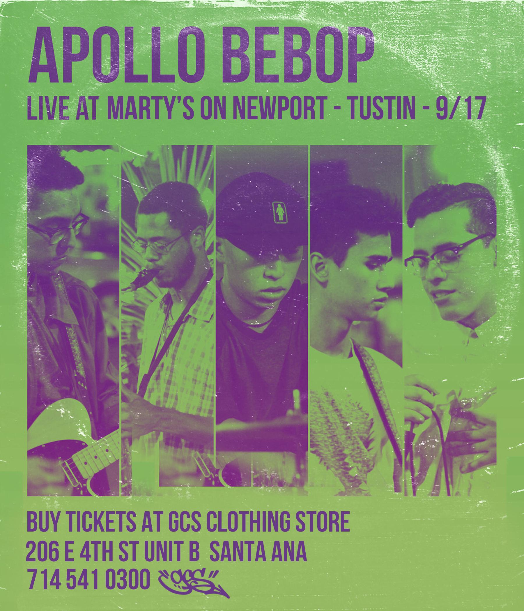 Apollo Bebop Santa Ana