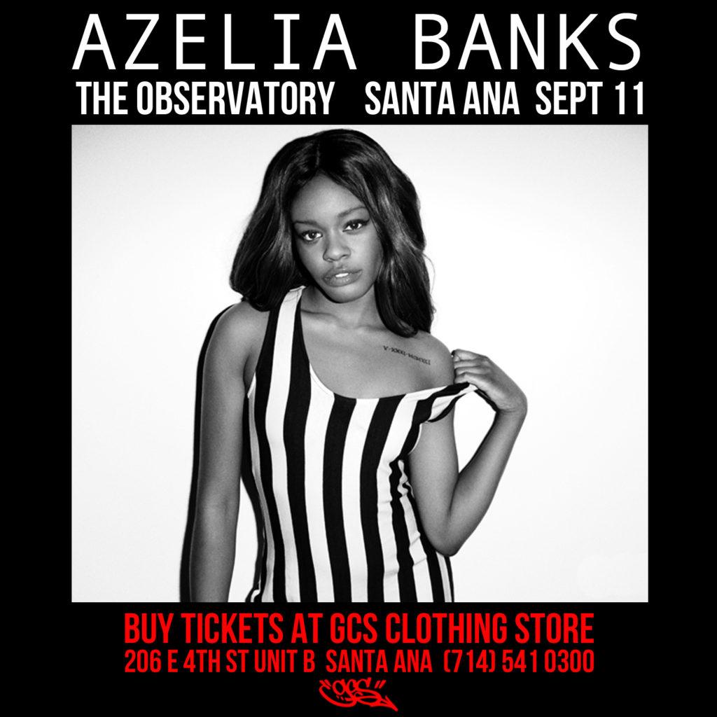 Azelia Banks Santa Ana