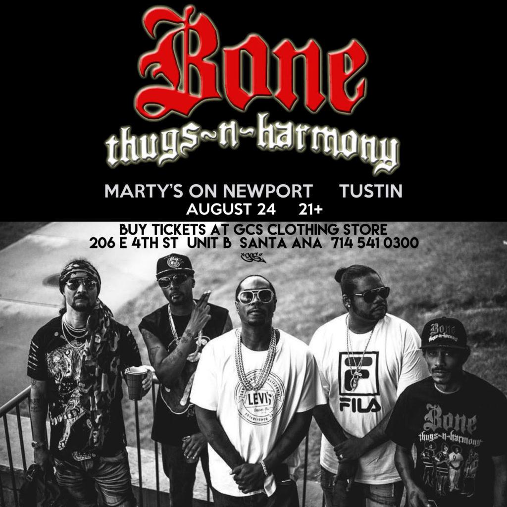 Bone Thugs n Harmony Tustin