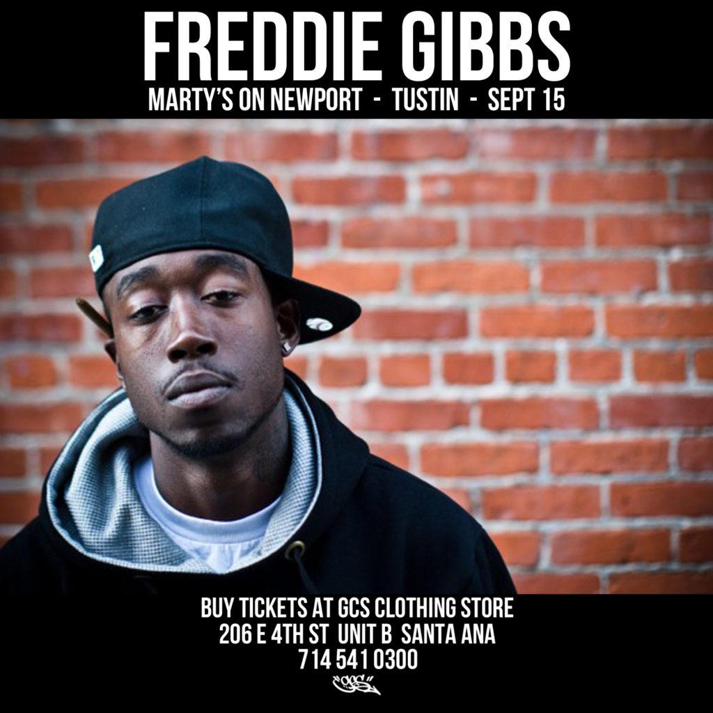 Freddie Gibbs Marty's On Newport