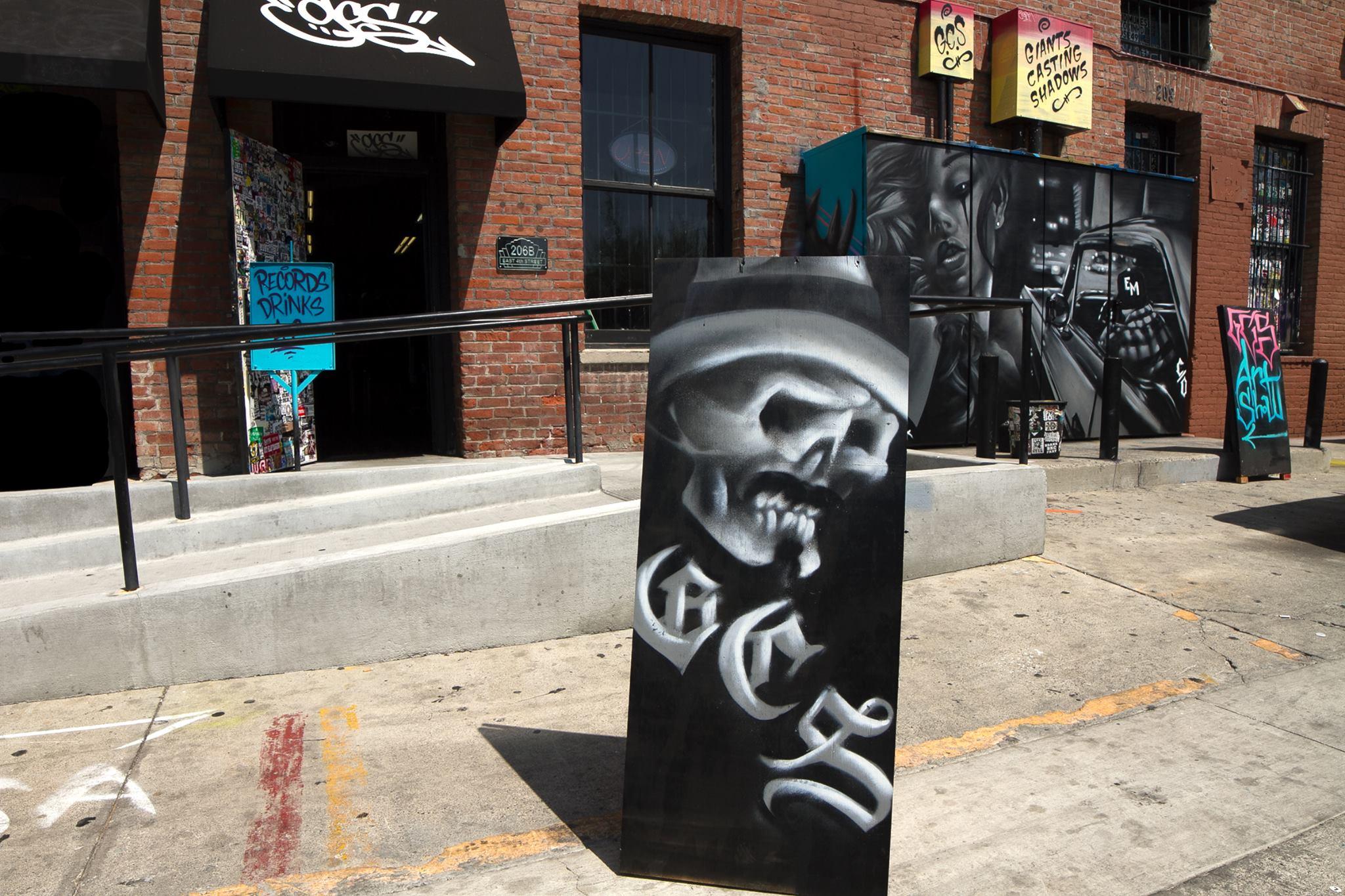 GCS Santa Ana clothing Store