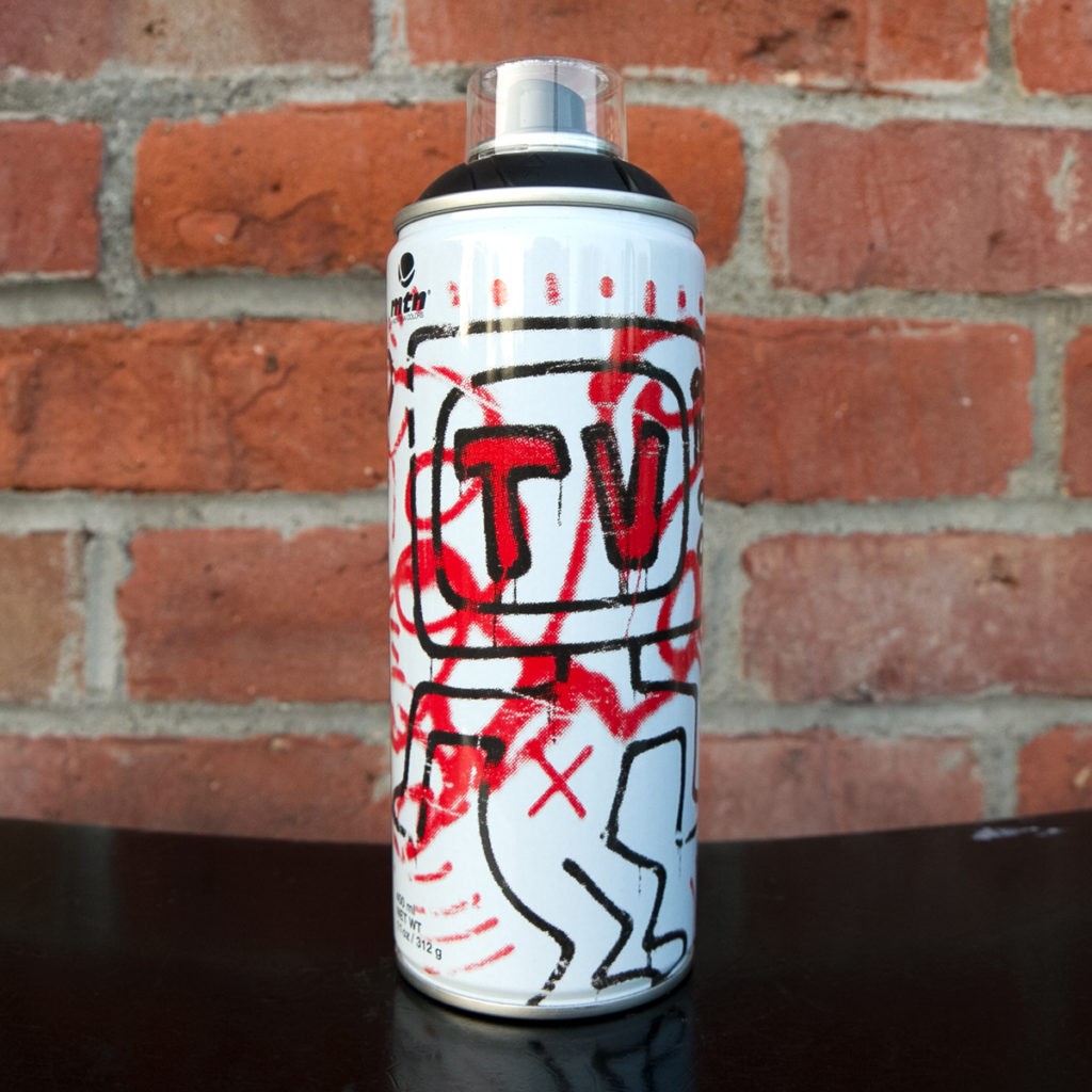keith haring mtn can