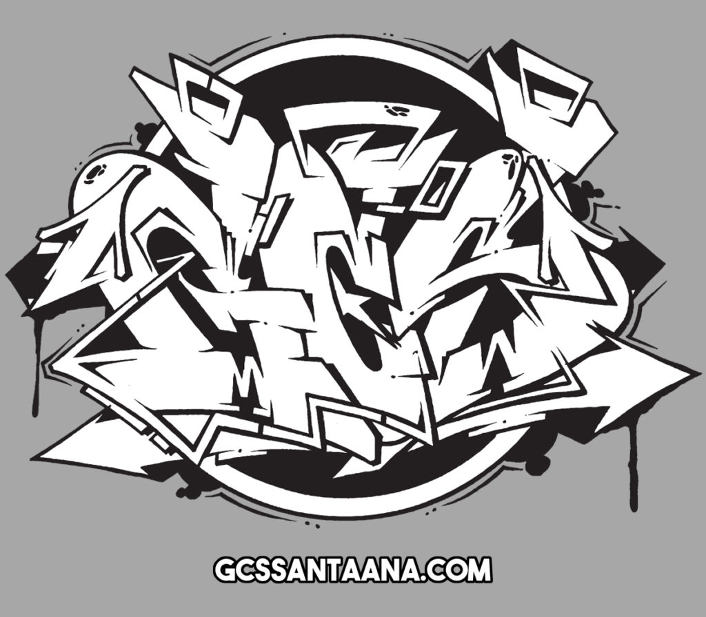 GCS graffiti