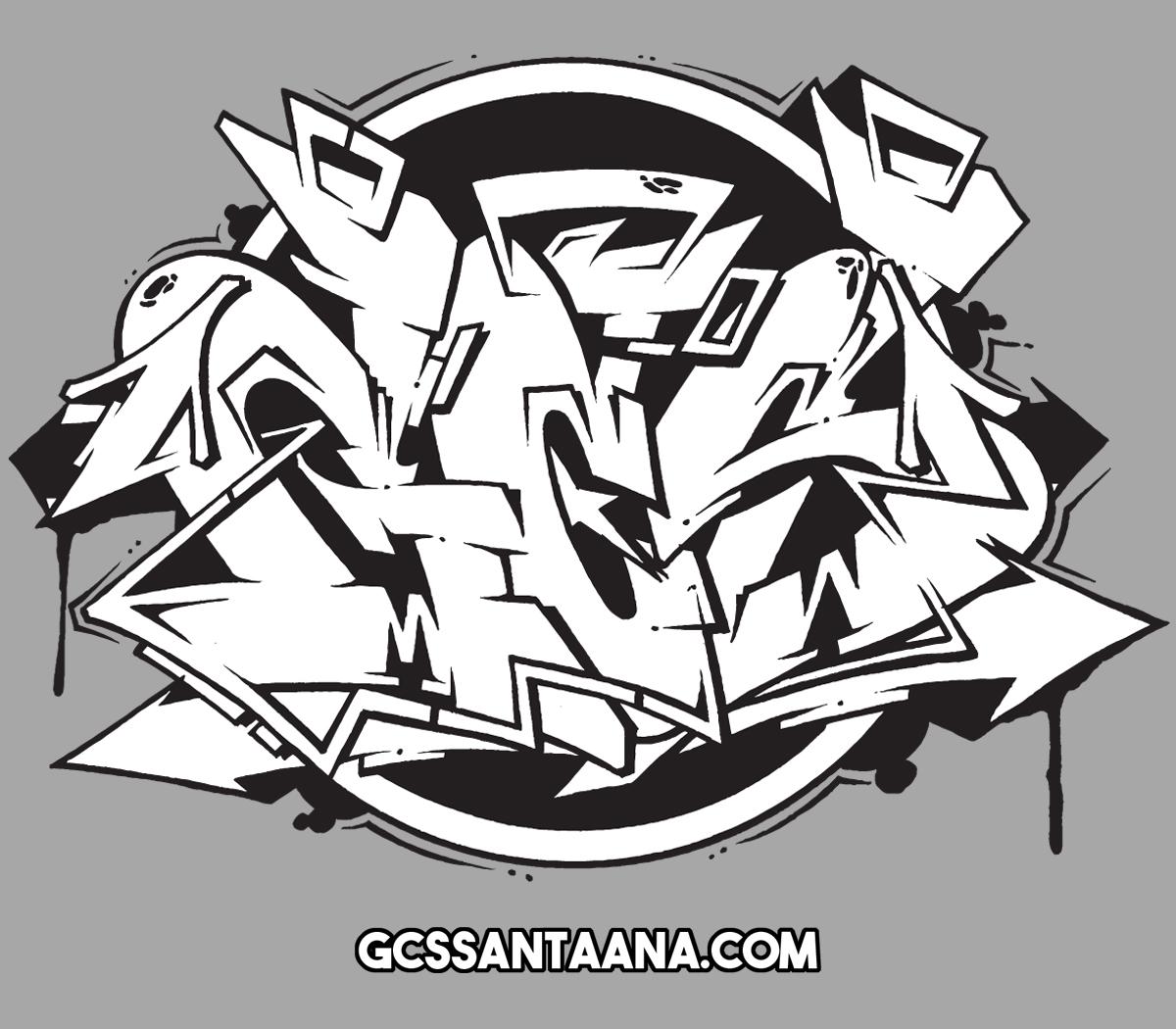 GCS graffiti