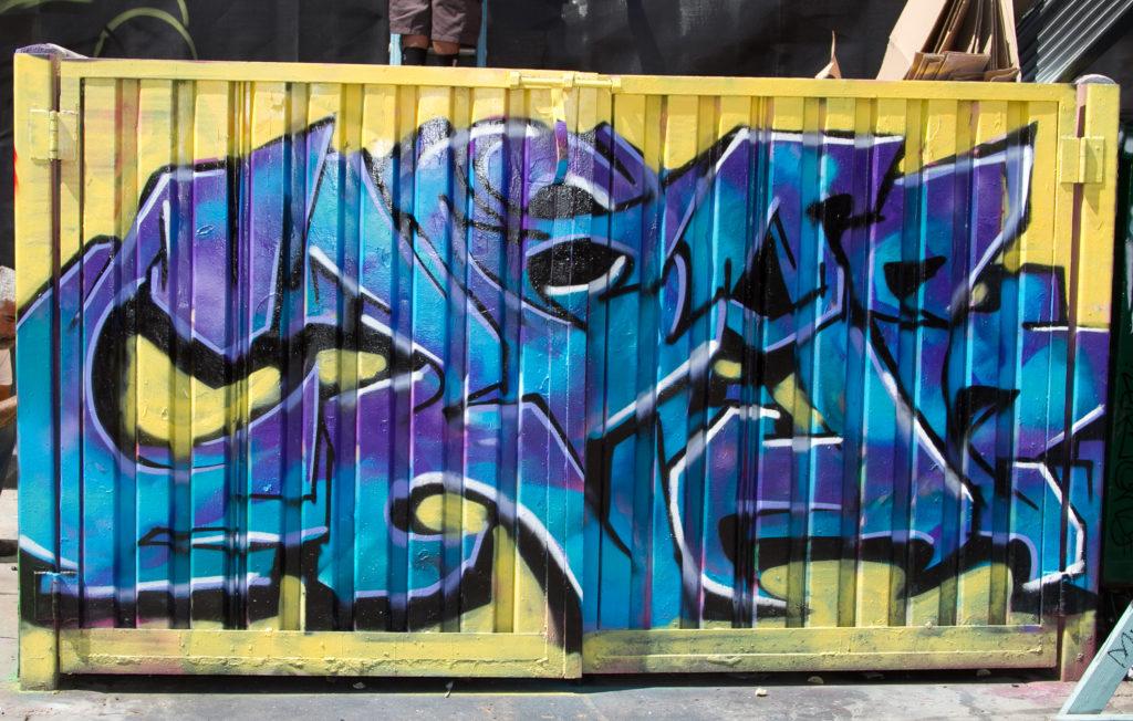 EZRAH graffiti