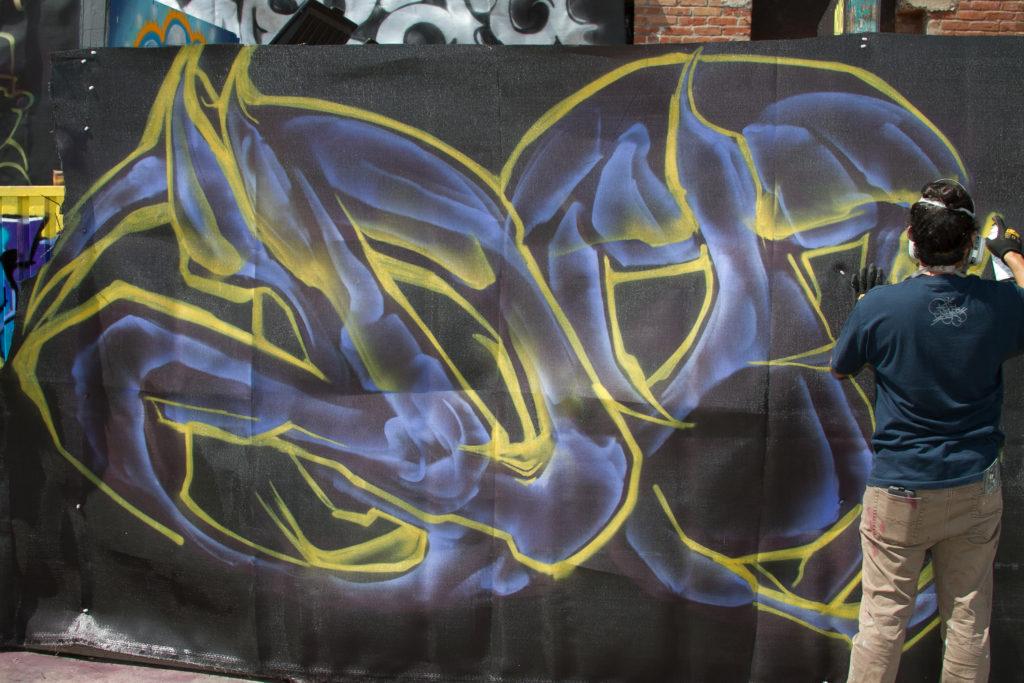 concrete jungle graffiti