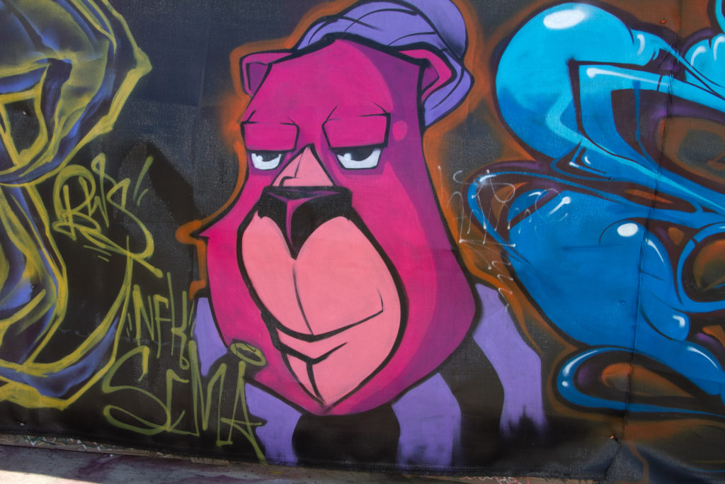 ESPY graffiti